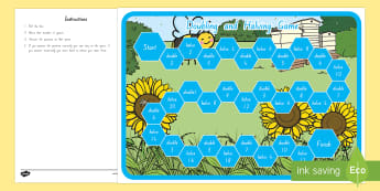 Doubling and Halving Board Game - New Zealand, maths, doubling, halving, board game, numbers to 20, Years 1-3, double, half, maths gam