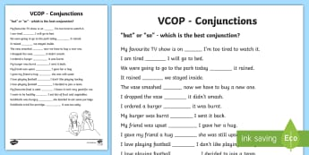 Connective Words - Primary Resources - KS1 - Year 1-2