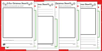 Christmas Production Activity Sheet Pack - christmas, production, activity, sheets, worksheet