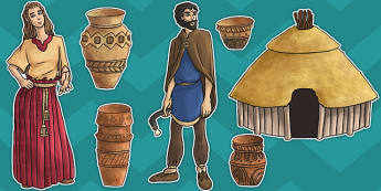 Bronze Age Large Display Cut Out Pack - large, display, cut outs, pack, bronze age