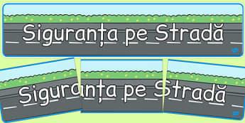 Reguli de circulație - Banner - circulăm, reguli, banner, de afișat, de perete, educație rutieră, cum circulăm, cartonașe, reguli de circulație, materiale, materiale didactice, română, romana, material, material didactic