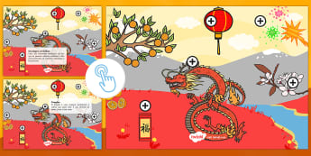 Imagem de Ano Novo Chinês pontos de interesse - ano novo, festa, celebracao, boas entradas, contagem, ano, novo, vesper de ano novo, celebracoes, an