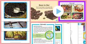 Fair Trade Fortnight CfE First Level IDL Resource Pack - Global citizenship, topic pack, 1st level, CfE, global issues, resource suggestions, people in socie