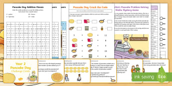 KS1 Pancake Day Resource Pack - shrove tuesday, christian traditions, RE, baking, Pancake day activities
