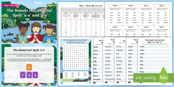 Year 1 Term 2B Week 2 Spelling Pack - Spelling Lists, Word Lists, Spring Term, List Pack, SPaG, spelling homework, spelling test