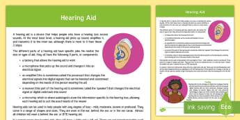Hearing Aid Information Guide - ToD, audiology, amplification, deaf, hearing impairment, hearing loss, audiologist