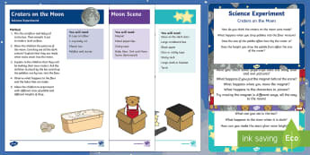EYFS Science Experiments Resource Pack - Space Themed - space, moon, magnets, glow in the dark, teddy bear, star