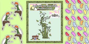 Jack and the Beanstalk Themed Reward Display Pack - display pack