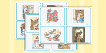 The Tale Of Two Bad Mice Story Sequencing Cards - Beatrix Potter, animals, stories, ordering