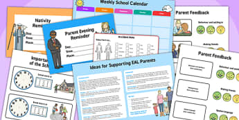 EAL Parents Pack - eal, parents, pack, resources, feedback, aid