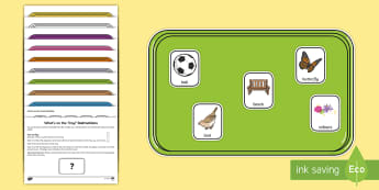 What's on the Tray? Garden Memory Activity Pack - Outdoor Learning, nature, forest, woodland, playground, outdoor classroom day, empty classroom day,