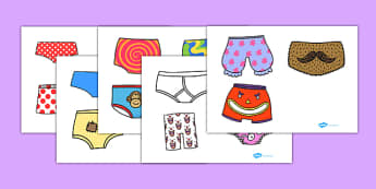Storybook Cut Outs to Support Teaching on Pants - pants, storybook, cut outs, story book cut outs, themed cut outs, pants story, aliens love underpants, storybooks