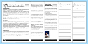 Musical Genres Reading Comprehension Activity - musical genres, comprehension