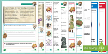 KS2 Terrific Toys and Games: Focused Reading Skills Comprehension Pack - Year 3, Year 4, Year 5, Year 6, reading comprehension, inference, understanding, reading dogs, SATs