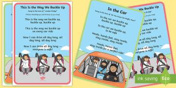 Seatbelt Safety Song Lyrics - seatbelt safety, car safety, UAE Citizenship, Road Safety, Buckle Up
