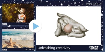John Lewis Unleashing Creativity PowerPoint - Moz The Monster, John Lewis, Christmas 2017, Christmas, Moz, Advert, Imagine, Monster, Monster Under