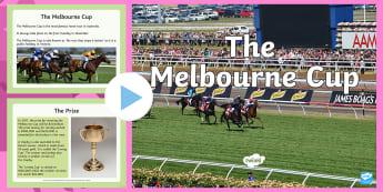 3-6 Melbourne Cup PowerPoint - Melbourne Cup, melbourne, Australia, events, horse, races, information