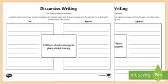 Discursive Writing Activity Pack - CfE Writingdiscursive writingbalanced argumentLIT 2-29a ,Scottish, arguments, non fiction writing, w