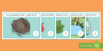 Counting Playdough Mats - Playdough mat, playdough resources, numeracy, numbers, playdough