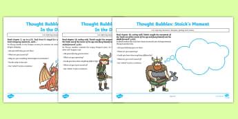 How to train your dragon cressida cowell primary how to train your dragon thought bubble pack ccuart Choice Image