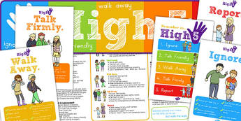 High Five How To Deal with Bullying Pack - displays, posters