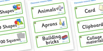 Oak Tree Themed Editable Classroom Resource Labels - Themed Label template, Resource Label, Name Labels, Editable Labels, Drawer Labels, KS1 Labels, Foundation Labels, Foundation Stage Labels, Teaching Labels, Resource Labels, Tray Labels, Printable