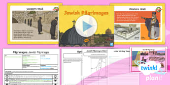 RE: Pilgrimages: Jewish Pilgrimages Year 4 Lesson Pack 5