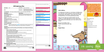 EYFS Mouse's Jelly Problem Adult Input Plan and Resource Pack - food, jelly, Problem, solid, liquid, change state, changing state, melt, dissolve, set, solid, liqui