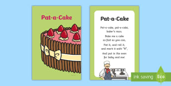 Pat a Cake Nursery Rhyme IKEA Tolsby Frame - pat a cake, baby signing, baby sign language, communicate with baby, pre verbal baby, tiny talk, sin