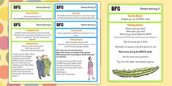 Drama Activities to Support Teaching on The BFG - bfg, drama, activities, activity, giant