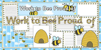 Work to Bee Proud of Display Pack - work, bee, proud, display pack