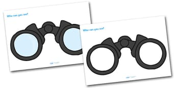 Brown Bear Brown Bear Who Can You See Binoculars - brown bear brown bear, who can you see, themed worksheet, brown bear work, discussion starters, class discussion