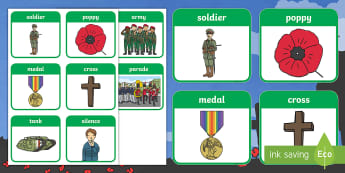 Remembrance Day Flashcards - remembrance Day, poppy, memorial, flashcards, remembrance
