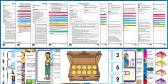 EYFS Selects the Correct Numeral... Adult Input Planning and Resource Pack - EYFS, Early Years Planning, Adult Led, Mathematics, Maths,  40-60, Selects The Correct Numeral To Re