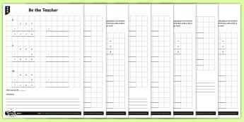 Finding Mistakes in Written Multiplication Calculations Activity Sheets