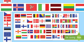 European Flags Borders - european flags, borders, europe, european, borders, activity, display, countries, europe flags