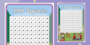 The Making of Milton 100 Number Square - twinkl originals, fiction, bravery, courage, pshce, counting, 0-100