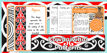 Kowhaiwhai Patterns Display Resources Pack