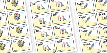 Angel Themed Editable Book Labels - Themed Book label, label, subject labels, exercise book, workbook labels, textbook labels