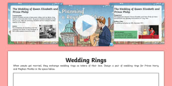 KS2 Planning A Royal Wedding Activity Pack - Marriage, organisation, prince harry, meghan markle, royal engagement, Britain, Ceremony, Prince Hen