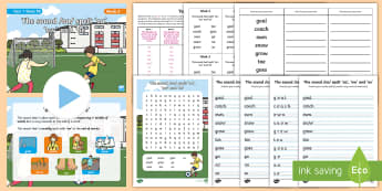 Year 1 Term 1B Week 3 Spelling Pack - Spelling Lists, Word Lists, Autumn Term, List Pack, SPaG