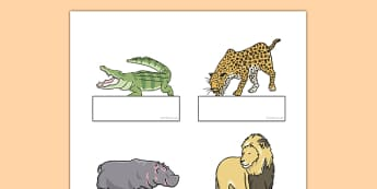 Crocodile Themed Editable Self-Registration - The Selfish Crocodile, register, record, attendance, self, ks1, eyfs, animals, jungle,