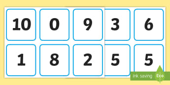 Number Bonds to 10 Snap Game - number bond games, number recognition to 10, addition to 10, number facts