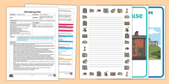 EYFS Houses Through Time Adult Input Plan and Resource Pack - EYFS Houses and Homes, my environment,  house type, homes, different homes, culture, background, liv