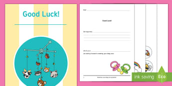 Maternity Leave - Baby Activity Booklet