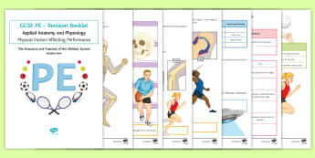 The Structure and Function of the Skeletal System Revision Booklet - GCSE PE, KS4, Revision, booklet, skeletal system, joints, functions of the skeleton, types of moveme
