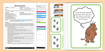EYFS The Big Bad Mouse Hunt Adult Input Plan and Resource Pack