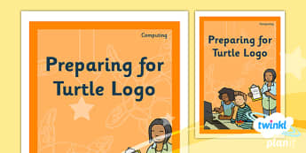 Computing: Preparing For Turtle Logo Year 2 Unit Book Cover