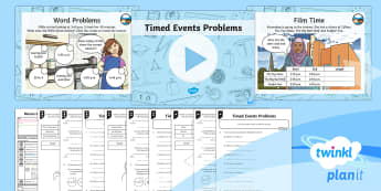 PlanIt Maths Y3 Measurement Lesson Pack Comparing Timed Events (2)
