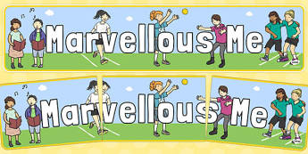 Marvellous Me Display Banner - marvellous me, display banner, display